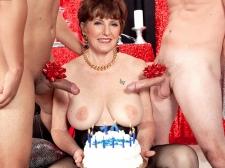 Bea's 70th birthday anal blast!