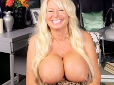 Getting To Know A Huge breasted, Hard-Nippled MILF