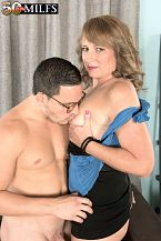 Catrina fucks her superlatively precious friend's son