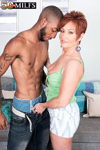 Young, darksome wang for HORNY HOUSEWIFE Ruby O'Connor